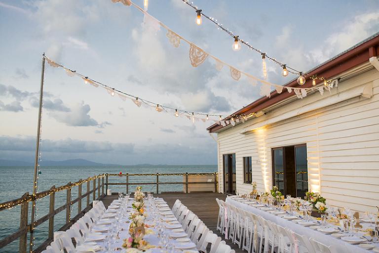 Vintage Theme Sugar Wharf Reception Port Douglas Wedding Lounge